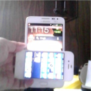 Galaxy Note & iPhone4