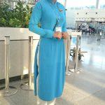 タン・ソ・ニャット国際空港 JALのスタッフ